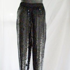 NEW NWT ASHISH Sequin Trouser Track PANTS Party